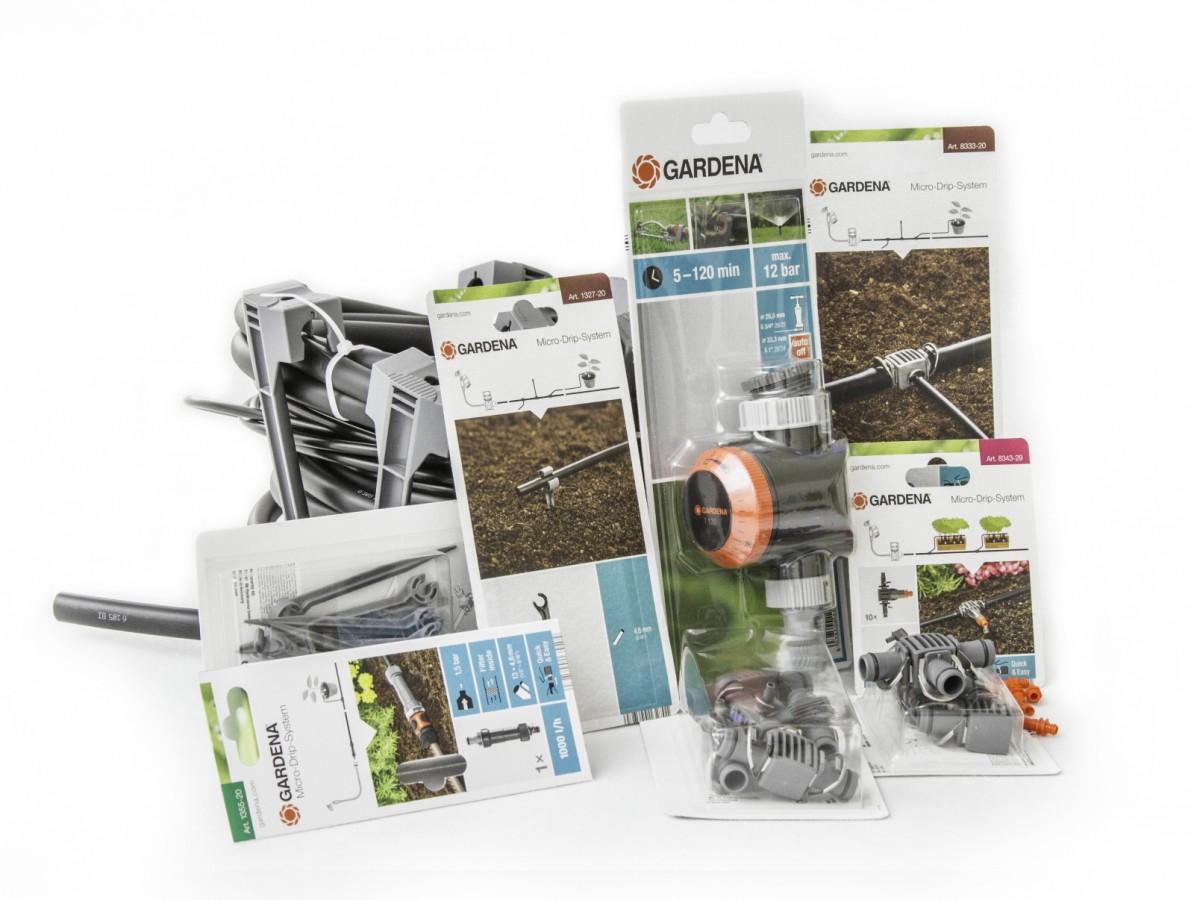 Gardena Automatické zavlažování skleníku 4 x 3 m (analogové)