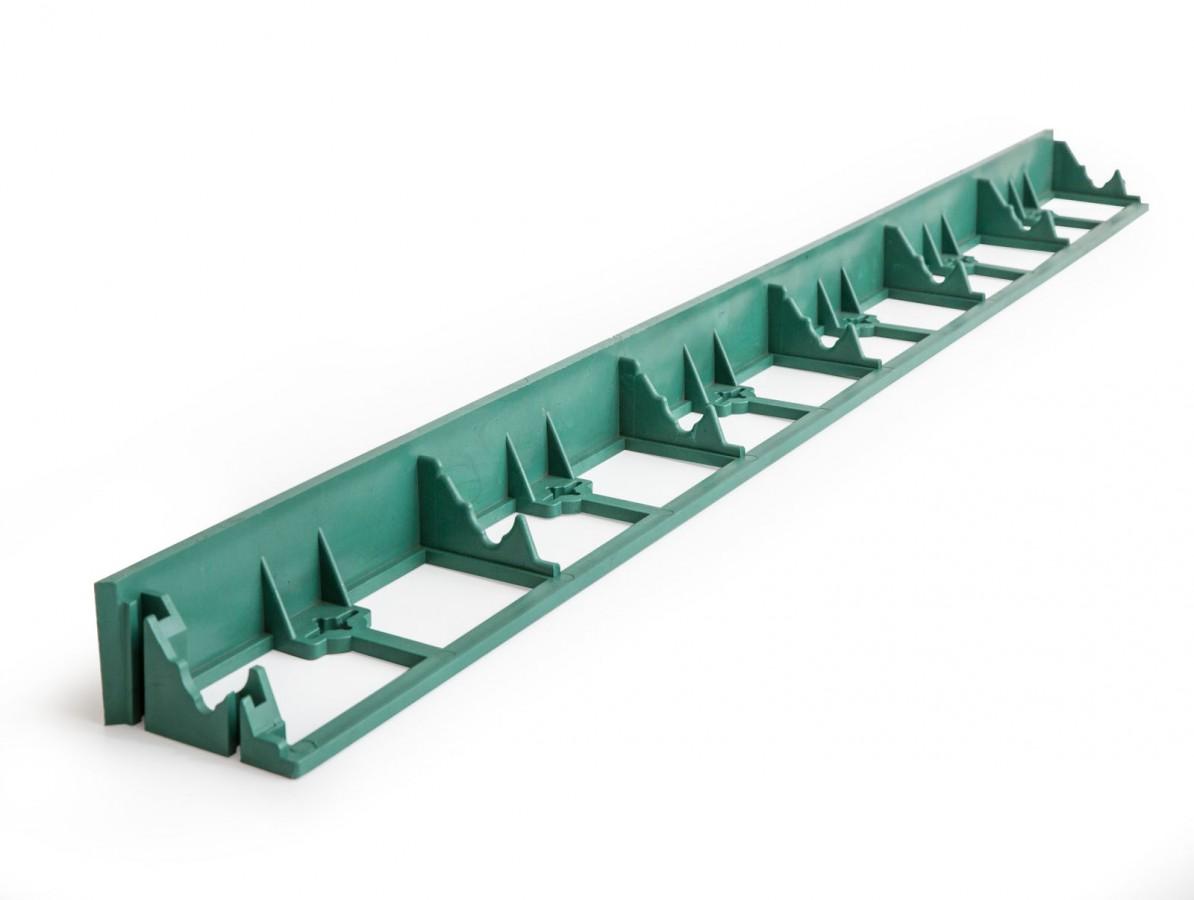 Neviditelný obrubník Guttagarden 45 zelený