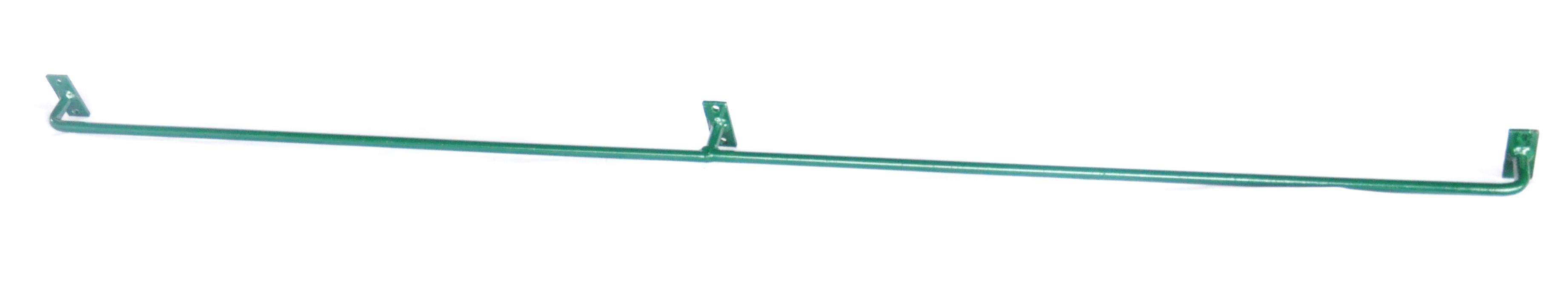 Konzole na zeď SUPER 200 cm, průměr 12 mm, zelená