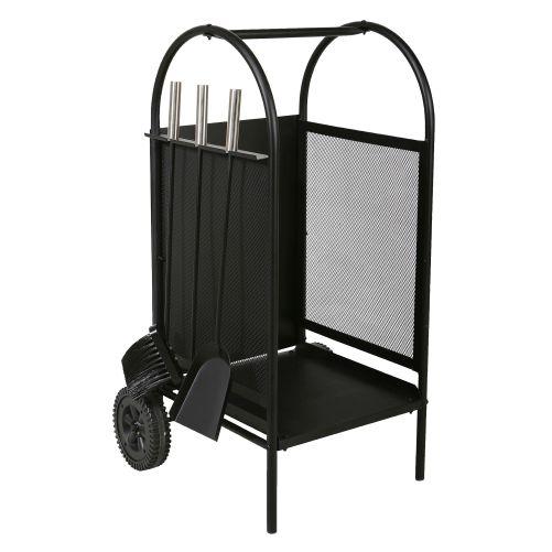 koš krbový/vozík s nářadím v.80cm, ocel sada 3díl.